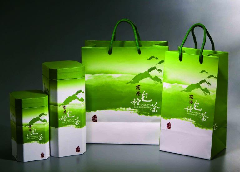 南港農會包種茶禮品設計 NANKUNG pao chong tea packaging design