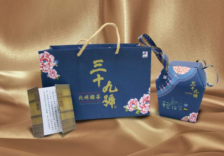 北埔客家包裝案-三十九號北埔擂茶 BEIPU Hakka packaging design case - PEIPU lei tea founding shop packaging design