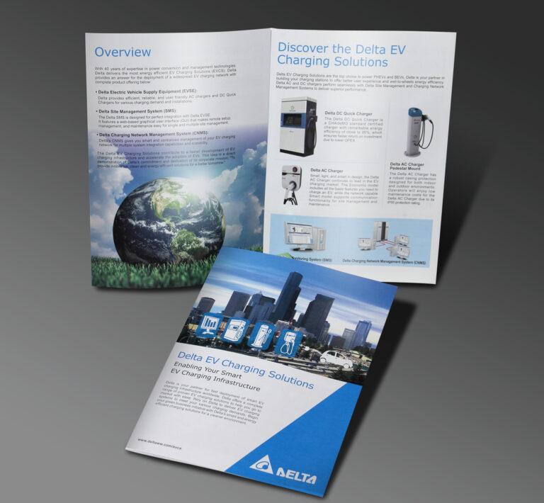 台達電-車充系統簡介 Delta Electronics, Inc. - EV Charging Solutions brochures