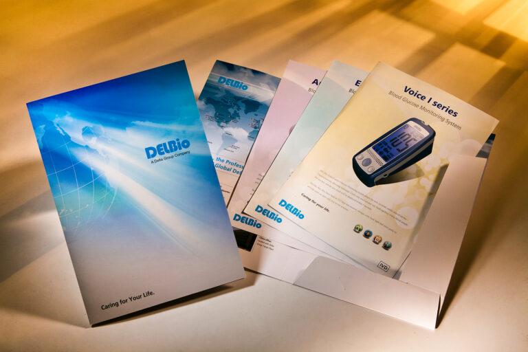 達爾生技-資料夾&產品說明 DELBio folder&brochures