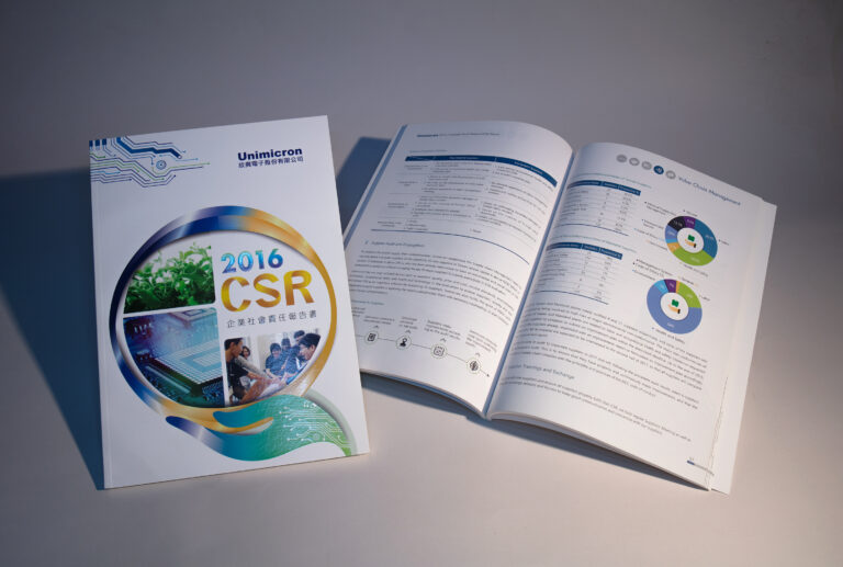 欣興電子股份有限公司企業社會責任報告書 Unimicron Technology Corporation Corporate Social Responsibility Report / CSR / ESG