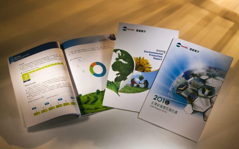 瑞晶電子企業社會責任報告書 REXCHIP Electronics Corporation Environmental Protection Report / CSR / ESG